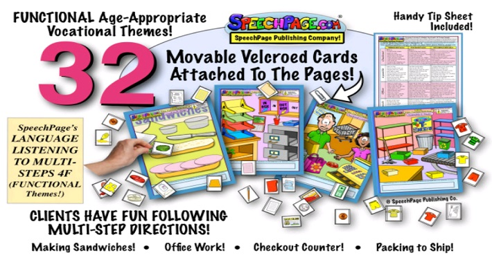 """A Fun Way to Target """"Following Directions""""- With Help From Our Friends At The Speech Page! 