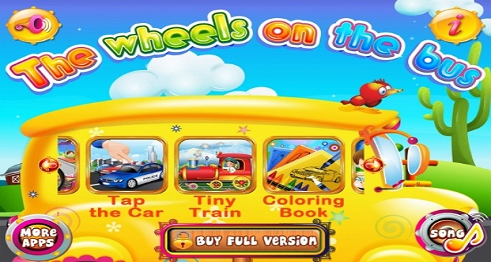 Our 5 Favorite Speech and Language Apps: #2 – Wheel's On The Bus | District Speech & Language Therapy | Speech Therapists in Washington DC