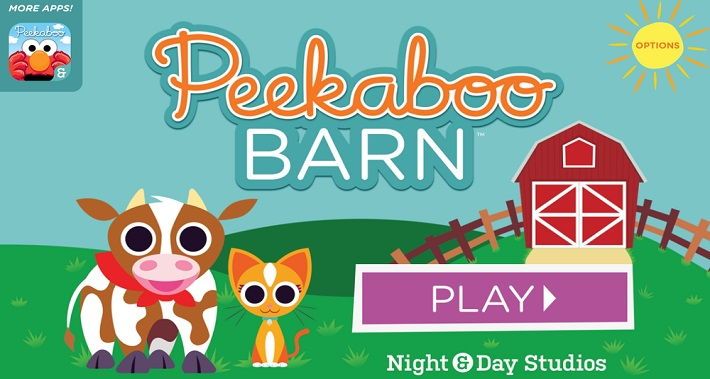 Our 5 Favorite Speech and Language Apps: #2 – Peekaboo Barn App | District Speech & Language Therapy | Speech Therapists in Washington DC