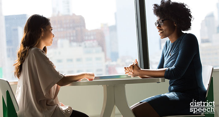 Adult Sturtering Speech Therapy Services | District Speech & Language Therapy | Washington D.C. & Northern VA