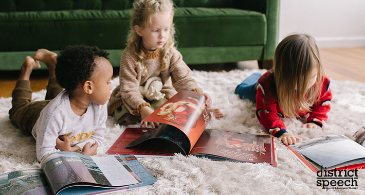 how reading to your child is good for the speech and language development | Washington D.C. & Northern VA