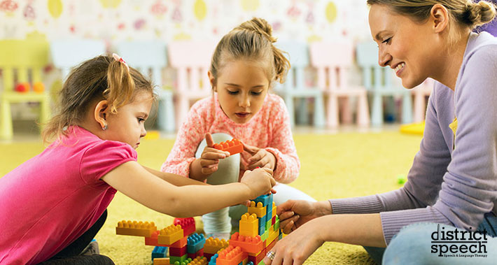 playing if important for your child's development | District Speech & Language Therapy | Washington D.C. & Northern VA