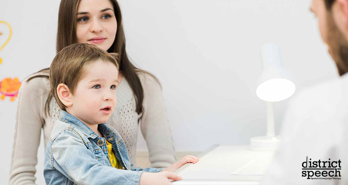 how to identify and treat Childhood Apraxia Of Speech | District Speech & Language Therapy | Washington D.C. & Northern VA