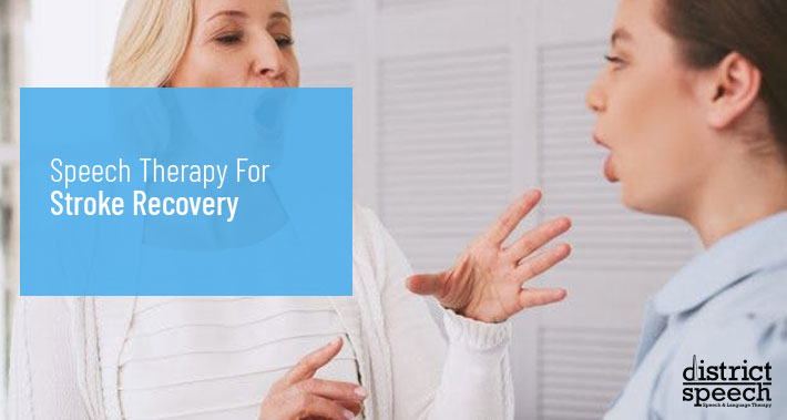 Speech Therapy For Stroke Recovery   District Speech & Language Therapy   Washington D.C. & Northern VA